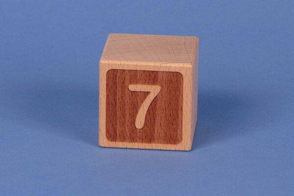 Cubes en lettres 7 négatif