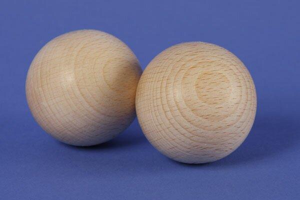 hardwood balls beechwood Ø 45 mm