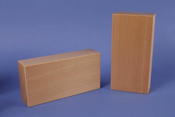 extra grote houten blokken 18 x 9 x 4,5 cm