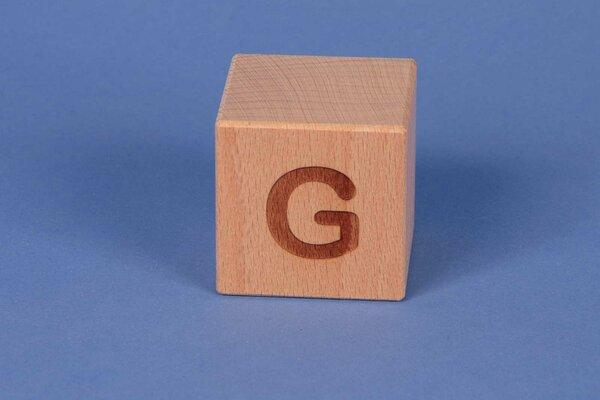 Cubes en lettres G positive